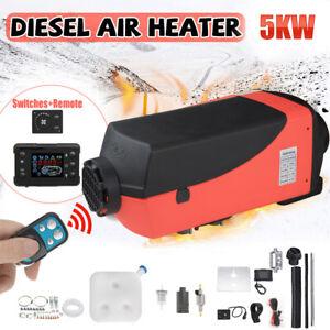 Standheizung Diesel Auto Air Heater Luftheizung LCD LKW PKW Yacht Boot 5KW 12V