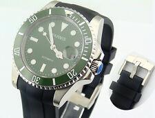 Parnis 40mm Ceramic Bezel sapphire glass automatic mens watch 1470
