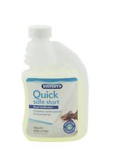 Interpet trattare QUICK SAFE START 250 ml Acquario Filtro Bio STARTER BATTERI