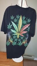 cannibus tshirt weed pot joints worn once size XL