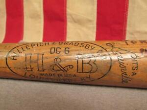 "Vintage Hillerich & Bradsby H&B Wood Baseball Bat Harmon Killebrew Model 34"""