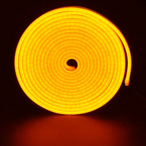 3M Green Waterproof LED Strip Neon Light 2835 SMD Flexible Silicone Tube Decor