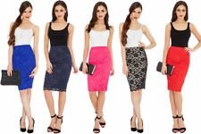 Unbranded Lace Stretch, Bodycon Party Skirts for Women