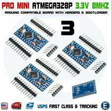 3pcs ATMEGA328P Pro Mini Board Module for Arduino Pro Mini 3.3V 8MHz ATMEGA328