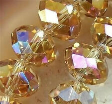 8mm Champagne AB Swarovsk Crystal Loose beads 360pcs