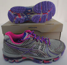 ASICS KAYANO 18 WOMENS SIZE 6 SHOES T250Q 9636 RUNNING WORK OUT TRAINING NEW