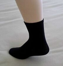 Women's Crew Socks Pkg of 2 Size 6-9 BlackNew Proportion Fit
