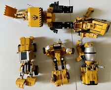 Transformers Combiner Lot Of 5, Import, Complete. KO Devastator Constructicons
