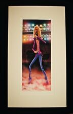 ROBERT PLANT-LED ZEPPELIN-Rare Limited Edition #2/20 Artist Signed AP Lithograph
