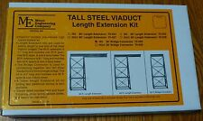 Micro Engineering Company HO #75526 Tall Steel Viaduct Length Connection -- 30'