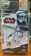 Star Wars Legacy Collection Stormtrooper Commander Sdcc Exclusive 2009 - Sealed