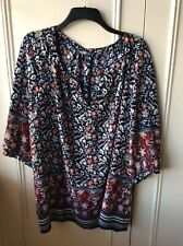 M & Co  Tunic Top Size 24