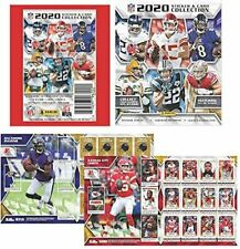 2020 PANINI NFL STICKERS COLLECTION 5 PACKS WITH 5 STICKERS/1 CARD PER PACK!!!!