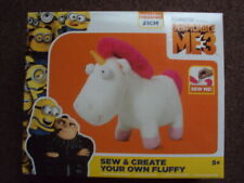 DESPICABLE ME 3 SEW & CREATE YOUR OWN FLUFFY KIT NEW BNIB