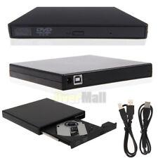 External USB 3.0 CD DVD RW Drive Burner Writer Reader Player For Mac Laptop PC