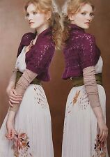 Patons Knitting Pattern Book 1299 Mist 4ply Top Jumper Shrug Wrap Dress Cardigan
