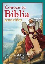 Conoce Tu Biblia para Niños : Mi Primera Referencia Bíblica para niños de 5 a...