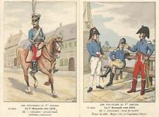 Cdt BUCQUOY - UNIFORMES 1er EMPIRE - Série 76 - le 1° HUSSARDS vers 1810