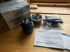 Olympus Zuiko Digital 50mm F/2 Macro Lente de cuatro tercios Fit (ED no Micro 4/3)