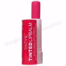 4 Technic Tinted Lip Balm Sticks Nude Pink Red