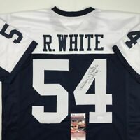 Autographed/Signed RANDY WHITE HOF 94 Dallas Thanksgiving Day Jersey JSA COA