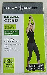 Gaiam Restore Resistance Cord Medium Resistance