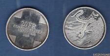 Suisse – 20 Francs 1995 La Reine des serpents des Grisons – Switzerland Swiss