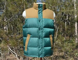 Mens Country Road Puffer Vest Size M - Insulated Jacket -