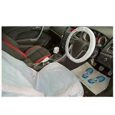 Disposable Car Service Protection Kit Seat Steering Wheel Gear Stick Covers