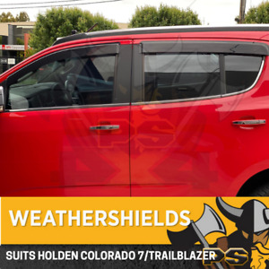 Superior Weathershields for HOLDEN COLORADO --7-- Wagon Window Visors Weather Sh