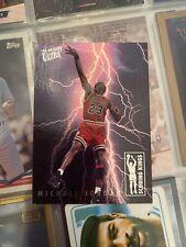 Michael Jordan 1993-94 Fleer Ultra ! Scoring King Perfect Color Vibrancy !!