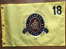 PGA Championship 2011 Atlanta CC Screen Print Golf Pin Flag Keegan Bradley