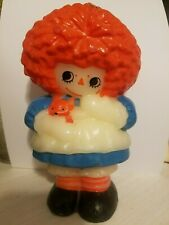 Bobbs Merrill Raggedy Ann Candle 1960's Excellent Condition