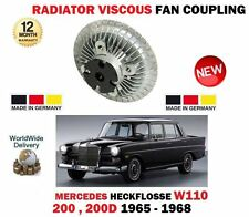 FOR MERCEDES HECKFLOSSE W110 200 2.0 2.0D 1965-> RADIATOR VISCOUS FAN COUPLING