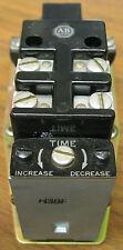 Allen Bradley 849A-ZOVM24 Timing Relay 12 Volt AC 60 Hz Coil