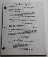 Rocky Marciano * 1998 TV Movie Script * starring actor Jon Favreau from Iron Man