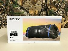 Sony SRS-XB33 Extra Bass Portable Bluetooth Speaker (Black)