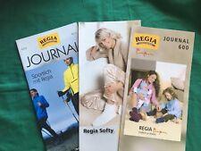 3 Regia Journal,Strickanleitungen Nr. 4009, Regia Softy u. Journal 600 Pompon