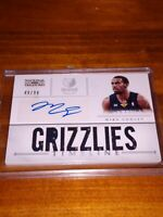 MIKE CONLEY 2013 NATIONAL TREASURES TIMELINE PATCH AUTO /99 GRIZZLIES AUTOGRAPH