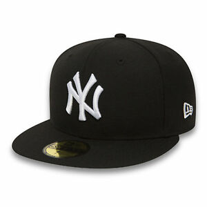New Era Cap 59Fifty Fitted New York Yankees MLB Baseball Cap Authentic