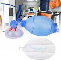 Adult/Child Manual Resuscitator 2000ml PVC Ambu OxygenBag Tube CPR First Aid kit