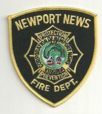NEWPORT NEWS VIRGINIA FIRE DEPT. PATCH /