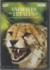*BBC Animales Letales: Defensores y Devoradores de Hombres (DVD) Ultimate Killer