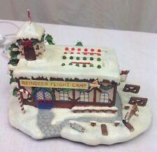 2003 Hawthorne Rudolph's Christmas Town Village Coach Comets Flight Camp no Box