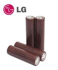 4 X GENUINE LG HG2 18650 3000mAh  Li-Mn 3.7V BATTERIES +