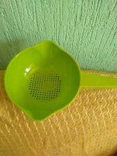 Tupperware Colander Strainer W/ handle GREEN 4 Cups (1L) New