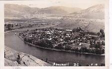 RP: ASHCROFT , British Columbia , Canada , PU-1952