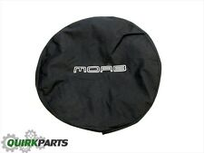 2007-2017 JEEP WRANGLER SPARE TIRE COVER WITH MOAB LOGO OEM NEW MOPAR