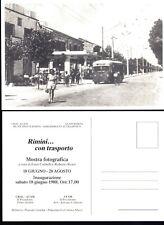 CARTOLINA PUBBLICITARIA MOSTRA FOTOGRAFICA 1988 RIMINI CON TRASPORTO  R18