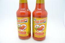Marie Sharps Hot Habanero Sauce Pack of 2 large 10oz bottles